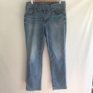 American Eagle Straight Super Stretch Jeans